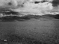 Pangong Tso Lake black and white.jpg