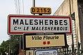Panneau entrée Malesherbes Malesherbois 1.jpg