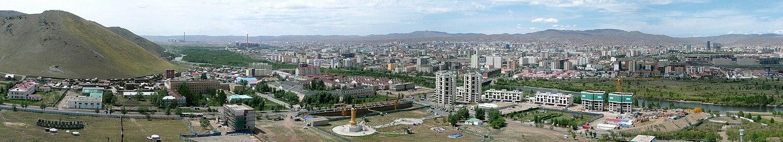 Ulan Bator, panorama