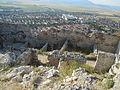 Panorama Rasnovului dintre ruinele cetatii.JPG
