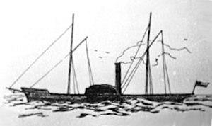 Capture of the Paquete de Maule - Image: Paquete Maule
