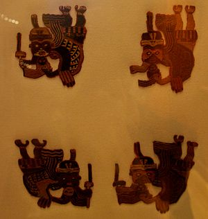 Paracas culture - Paracas textiles at the British Museum. Object 24 of A History of the World in 100 Objects.
