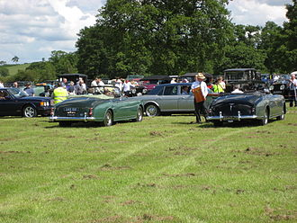 Park Ward - 1956 and 1954 Bentley Continental drophead coupés