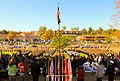 Participants salute the American Flag during the Veterans Day Parade at Fullerton, Calif., Nov. 12, 2012 121112-A-GT718-015.jpg