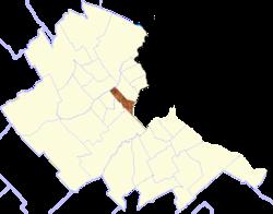 location of Tres de Febrero Partido in Buenos Aires Province