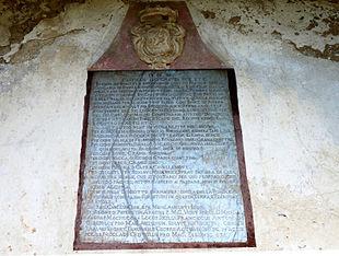 Tabella daziaria di San Mattia
