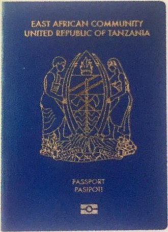 Tanzanian passport - Image: Passport TZ