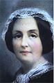 Pastel portrait of Henrietta Emma Helena de Salis (19th century, detail).jpg