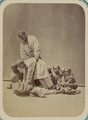 Pastimes of Central Asians. A Young Man Teaching Younger Boys How to Wrestle WDL10813.png