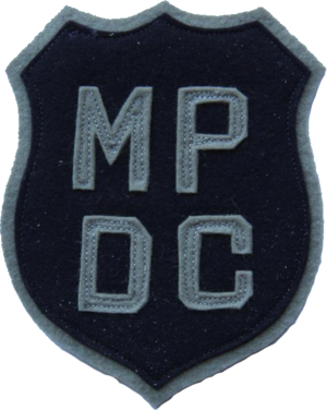 Leslie Coffelt - Image: Patch of the Metropolitan Police Department of the District of Columbia (1940)