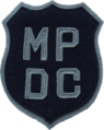 Patch of the Metropolitan Police Department of the District of Columbia (1940).png