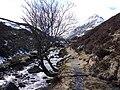 Path beside Allt a Bhealaich Dhuibh - geograph.org.uk - 198182.jpg