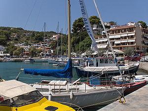 Alonnisos - Port of Patitiri