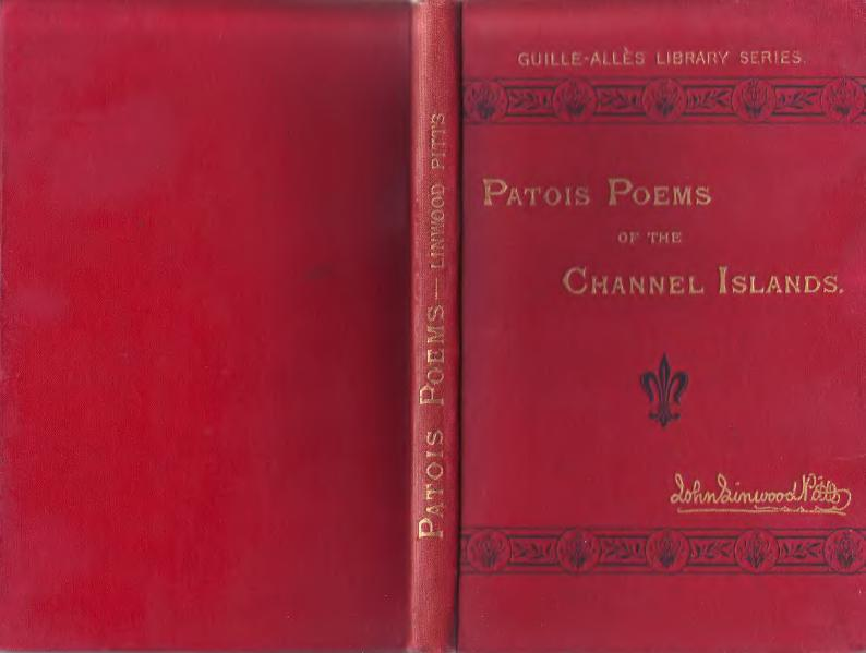 Patois Poems of the Channel Islands 1883