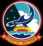 Patrol Squadron 6 (US Navy) insignia 1962.png