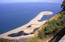 La laguna di Tindari sede della riserva naturale di Marinello
