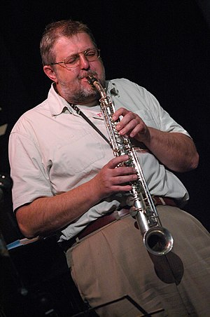 Paul Dunmall - Dumall performing in 2007