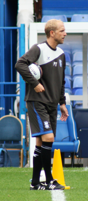 Paul Trollope - Trollope with Birmingham City in 2011