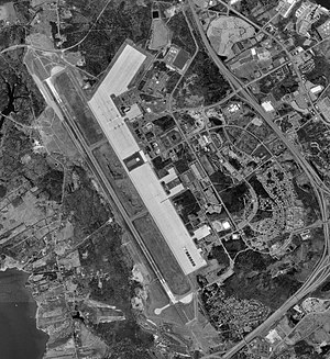 Portsmouth International Airport at Pease - USGS 1998 orthophoto