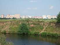 Pekhorka, view to Zhukovsky 2011.jpg