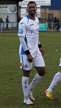 Pelé playing for Havant & Waterlooville.jpg