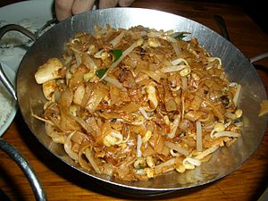 Malaysian Chinese cuisine - Penang-style char kway teow
