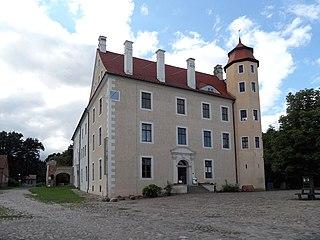 Penkun Place in Mecklenburg-Vorpommern, Germany