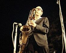 A la Grande Parade du Jazz à Nice, France, 7 juillet 1978