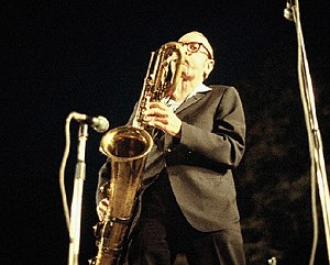 Pepper Adams - Pepper Adams performing at the Grande Parade du Jazz in Nice, France, July 7, 1978 (photo by John McCrady)