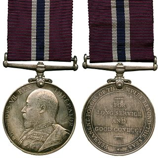 Permanent Forces of the Empire Beyond the Seas Medal