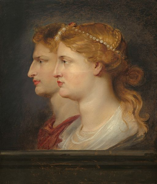 Peter Paul Rubens - Agrippina and Germanicus (National Gallery of Art)