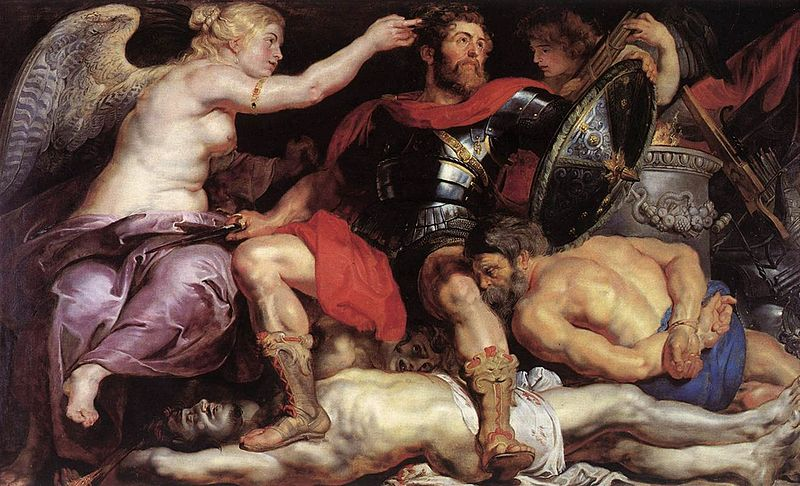 Peter Paul Rubens - The Triumph of Victory .