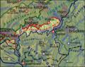 Pfaelzerwaldkarte Saarbruecken-Kirkeler Wald kompakt.png