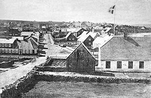 Reykjavík - Reykjavík in 1881