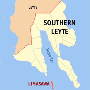 Sogod Bay - Image: Ph locator southern leyte limasawa