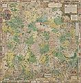 Philipp Apian - Bairische Landtafeln von 1568 - Zusammensetzung aller 24 Tafeln.jpg