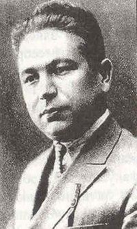 "Photo of Bekir Chobanzade in poetry collection ""Boran"".jpg"