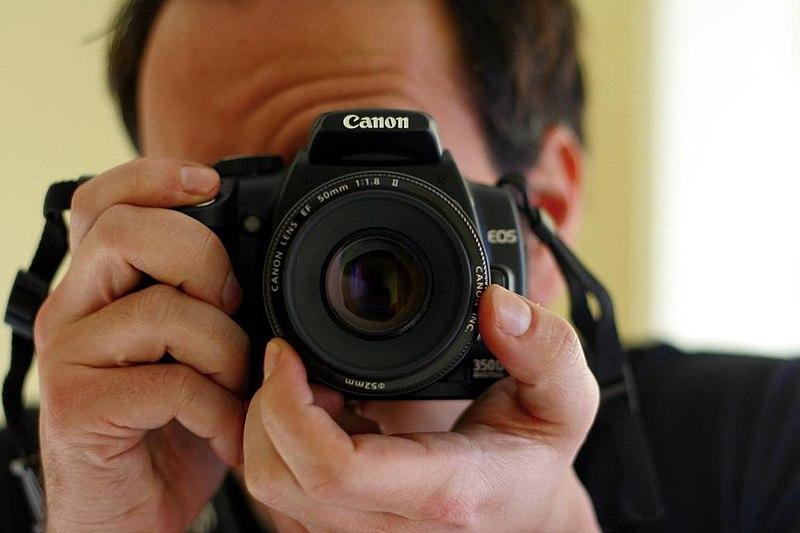 fotograf obiektyw