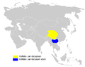 Phylloscopus occisinensis distribution map.png