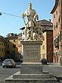 Piazza carrara, pisa , statua ferdinando I 01 di pietro francavilla.JPG