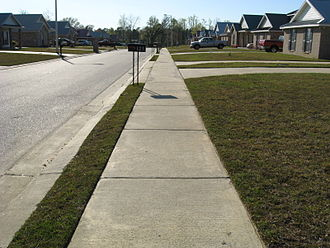 Subdivision (land) - A subdivision in Picayune, Mississippi
