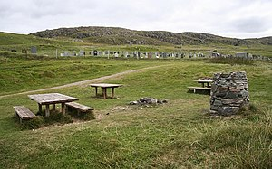 Dail Mòr - Image: Picnic Area and Cemetery, Dail Mor geograph.org.uk 568187