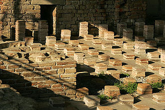Aventicum - Thermes en Perruet (Baths at the Forum)