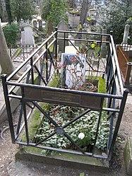 Pierre Desproges' tomb