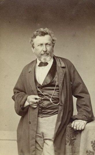 Pierre Jean Édouard Desor - Pierre Jean Édouard Desor in 1863