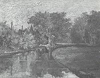 Piet Mondriaan - Boslandschap met beek - A21 - Piet Mondrian, catalogue raisonné.jpg