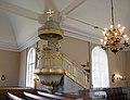 Pietarsaari Church pulpit 20180705.jpg