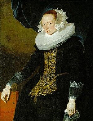 Pieter Soutman - Portrait of an unknown woman ca. 1630.