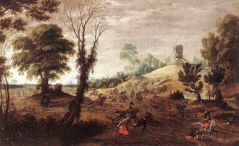 File:Pieter Meulener - Cavalry Skirmish - WGA15117.jpg