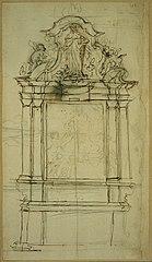Sketch of an altar